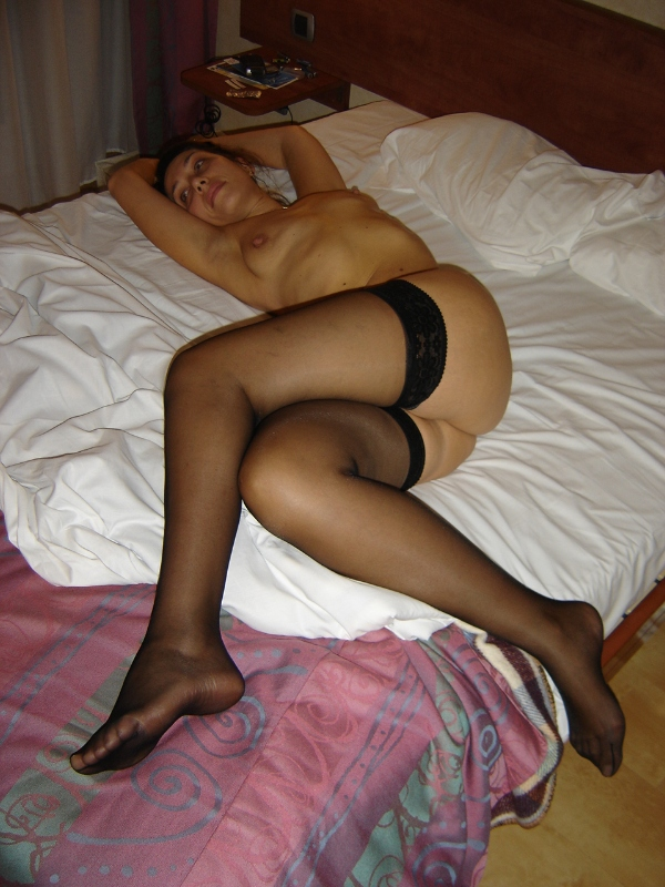 sexy wife in bed
