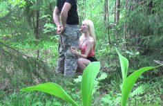 Suihinotto metsässä – Suomipornovideo